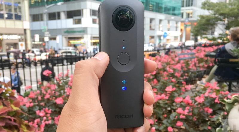 Ricoh Theta V 4K Spherical VR Camera