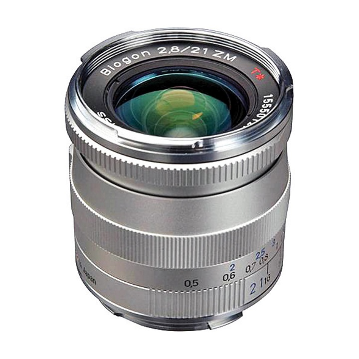 Zeiss Biogon 21mm f/2.8 ZM Silver for Leica M-Mount