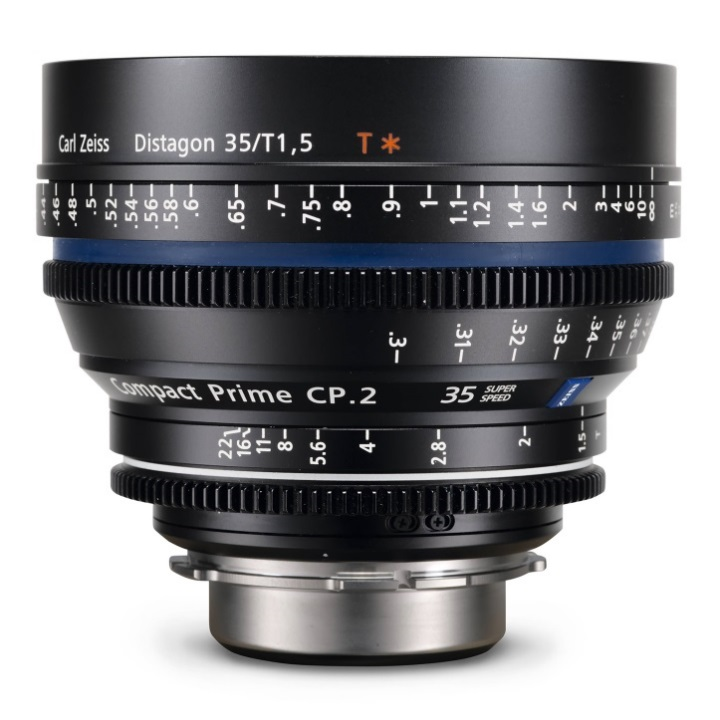 Zeiss Compact Prime CP.2 35mm/T1.5 E Feet