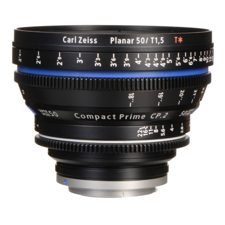 Zeiss Compact Prime CP.2 50mm/T1.5 EF Feet