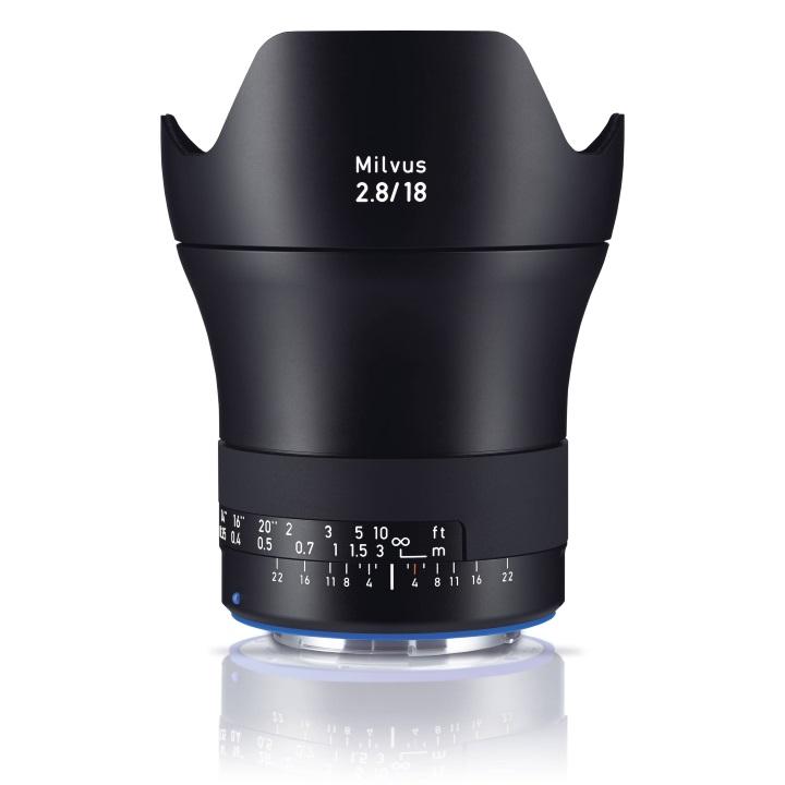 Zeiss Milvus 18mm f/2.8 ZE Lens for Canon
