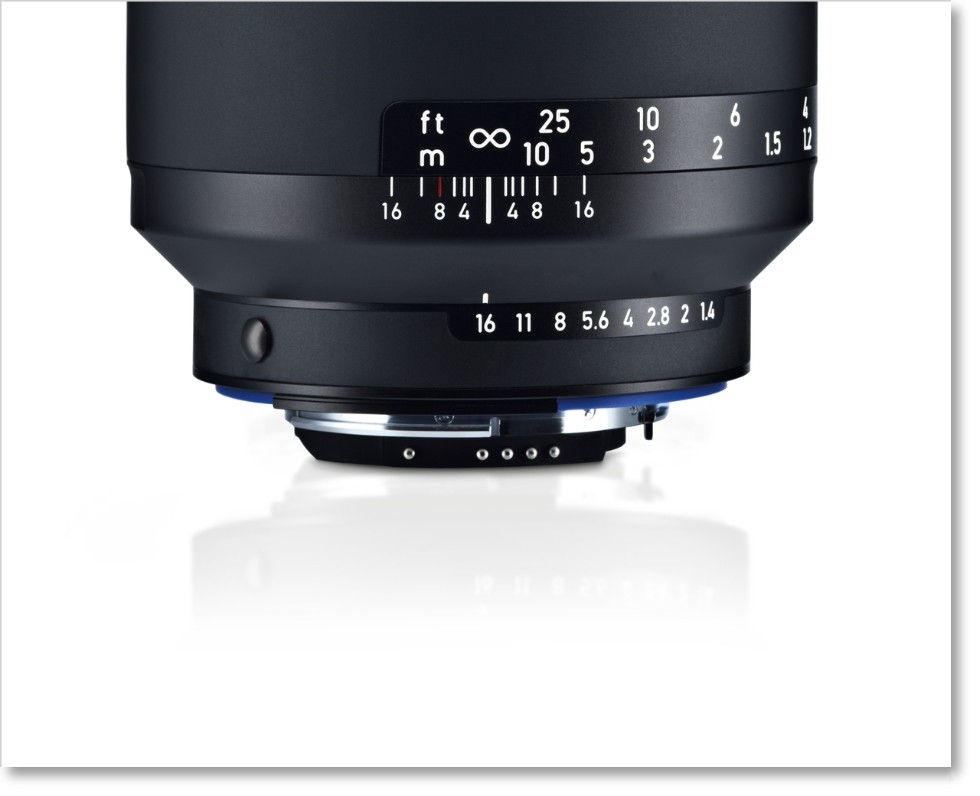 Zeiss Milvus 50mm f/1.4 ZE Lens for Canon EF
