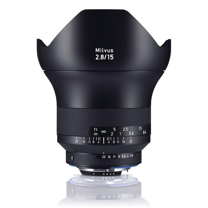 Zeiss Milvus 15mm f/2.8 ZF.2 Lens for Nikon