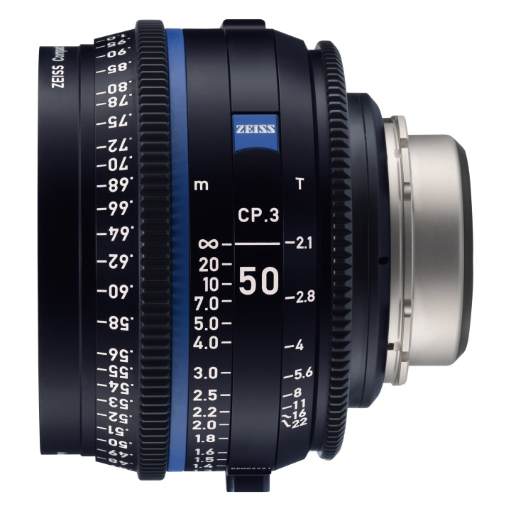 Zeiss CP.3 50mm/T2.1 Feet Compact Prime Lens