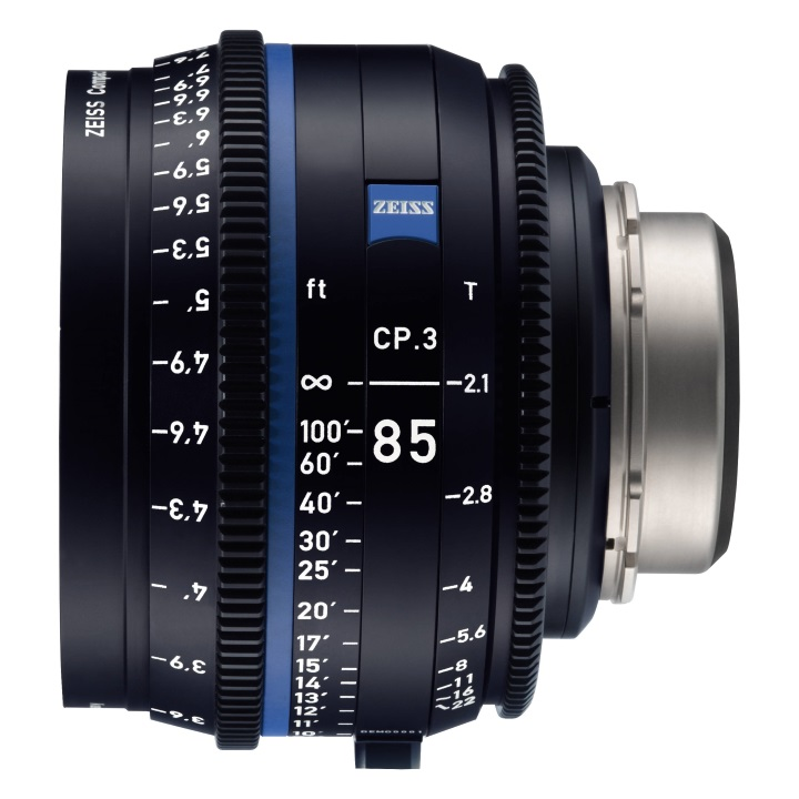 Zeiss CP.3 85mm/T2.1 Feet Compact Prime Lens