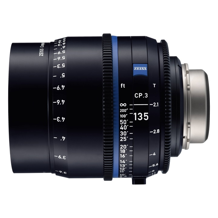Zeiss CP.3 135mm/T2.1 Feet Compact Prime Lens