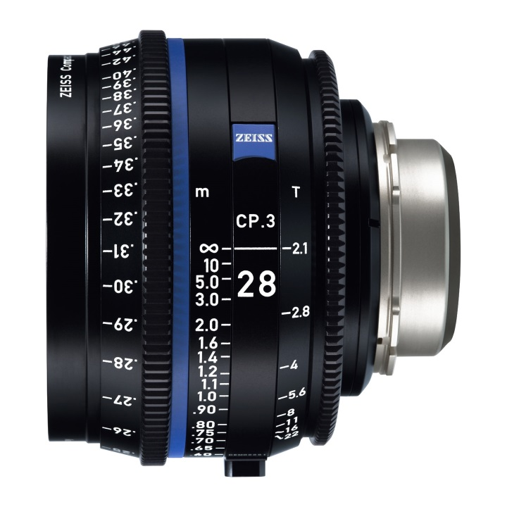 Zeiss CP.3 28mm/T2.1 Feet Compact Prime Lens