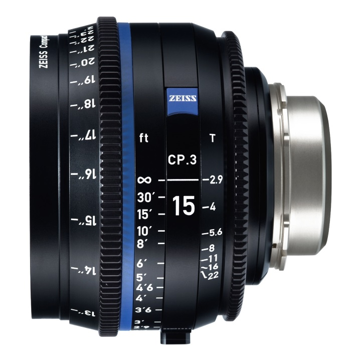 Zeiss CP.3 15mm/T2.9 Feet Compact Prime Lens