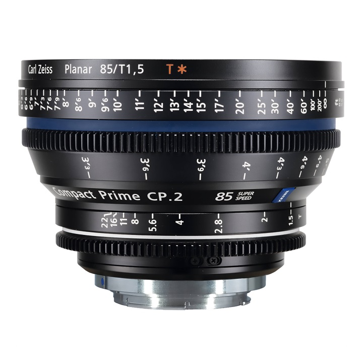Zeiss Compact Prime CP.2 85mm/T1.5 E Feet