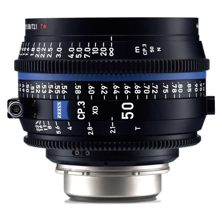 Zeiss CP.3 50mm T2.9 PL feet XD eXtended Data