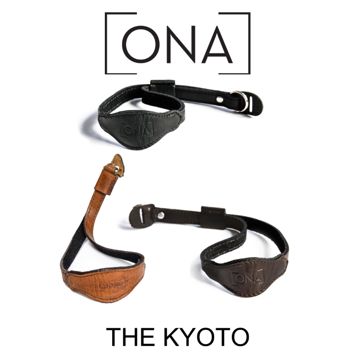 ONA The Kyoto Leather Wrist Strap