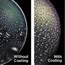Water and oil repellent coating