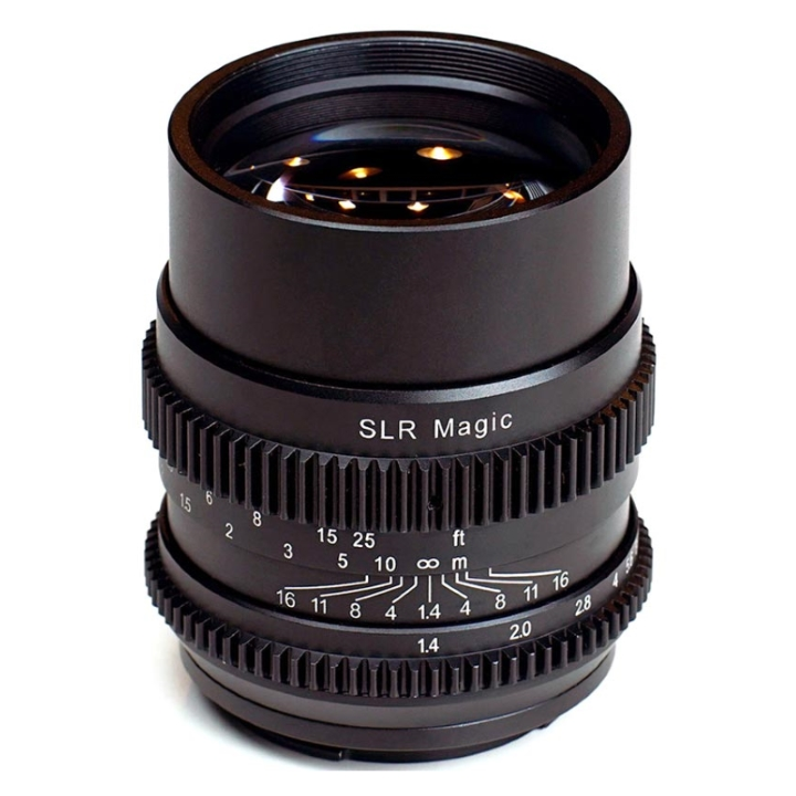 SLR Magic CINE 75mm F/1.4 lens E Mount