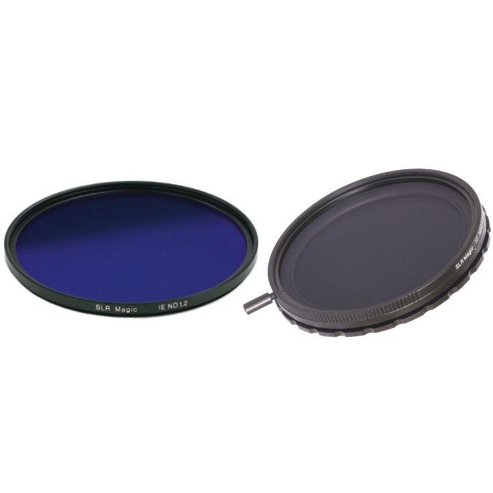 SLR Magic Variable ND II Filter 77mm & IRND Filter 86mm Set