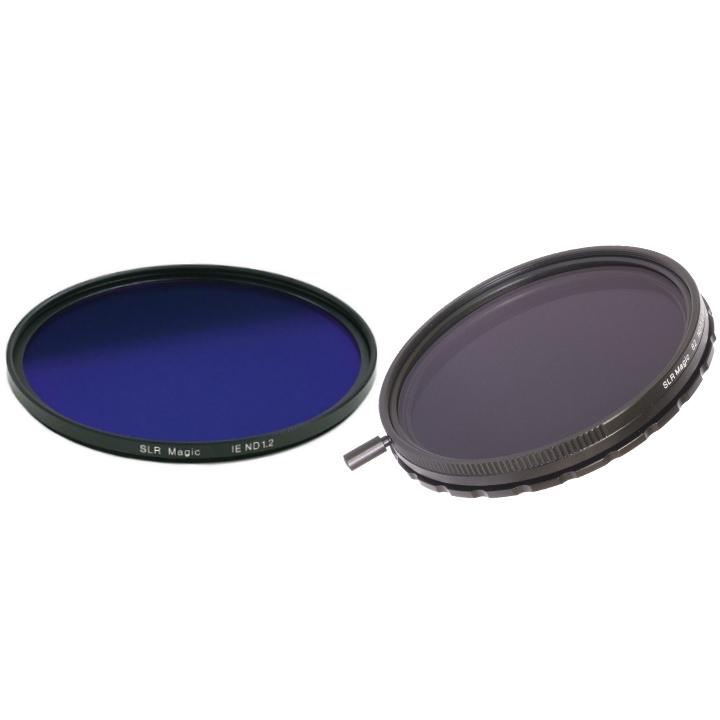 SLR Magic Variable ND II & IRND Filter Filter 82mm 86mm Set