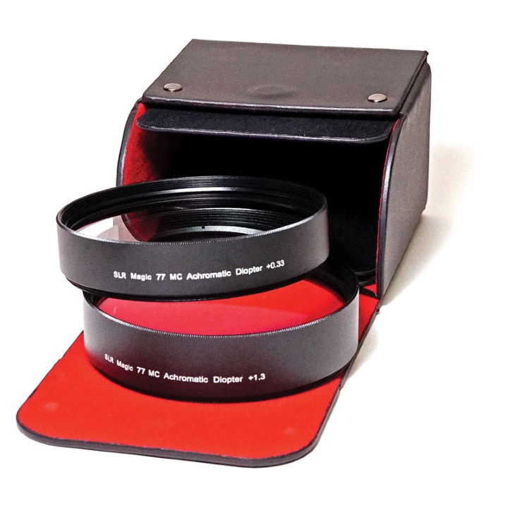 SLR Magic Achromatic Diopter Set (2) +0.33 & +1.33 77mm Mount