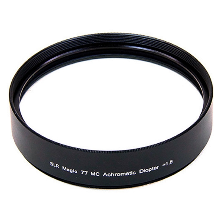 SLR Magic Achromatic Diopter +1.8 77mm Mount