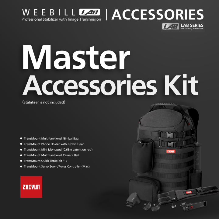 Zhiyun-Tech Weebil Lab Master Accessory Kit