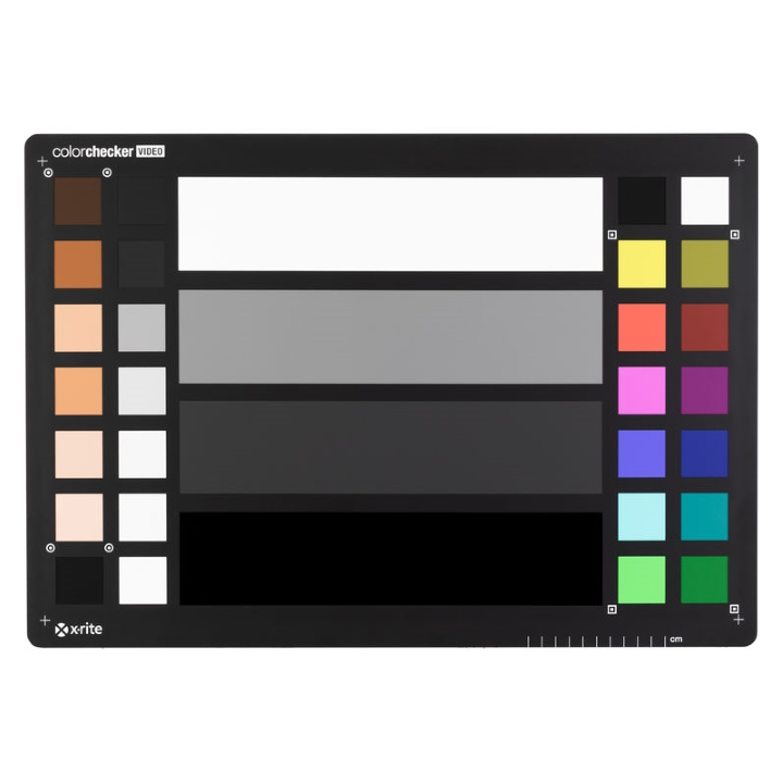 X-Rite Color Checker XL Video Target