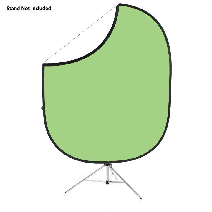 Savage Folding Collapsible Light Green/White 1.52m x 1.83m Backdrop