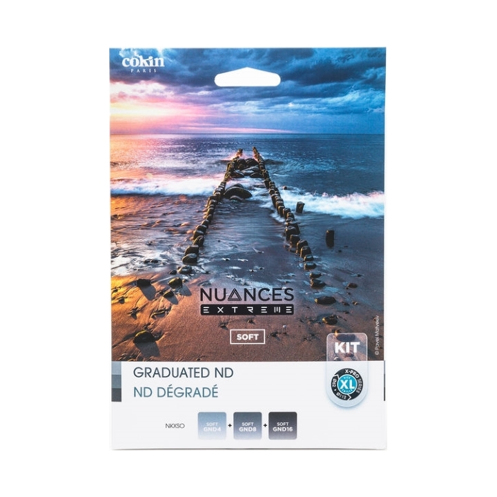 Cokin Nuances Ext Soft Kit XL (X) GND4, GND8 and GND16