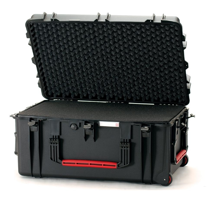 HPRC 2780W - Wheeled Hard Case with Cubed Foam (Black)