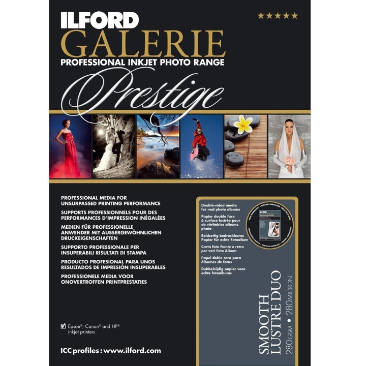Ilford Galerie Smooth Lustre Duo (280gsm) 12x12
