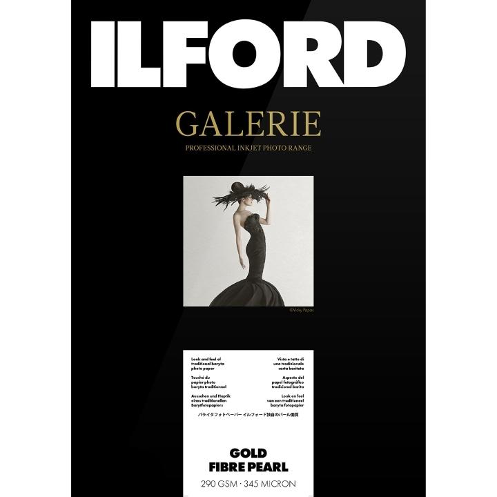 Ilford Galerie Gold Fibre Pearl 290gsm A3+ 32.9cmx48.3cm 50 sheets