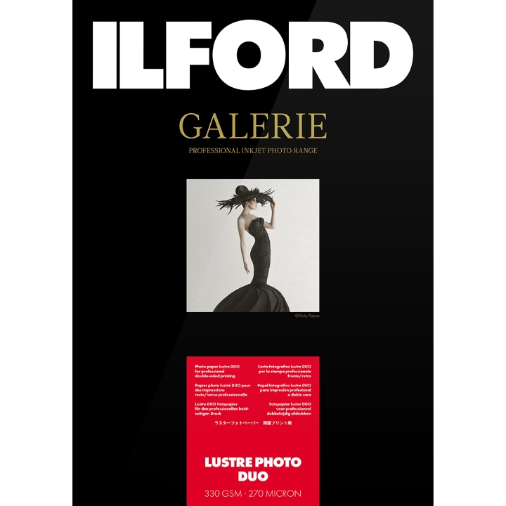 Ilford Galerie Lustre Photo Duo 330gsm A2 25 Sheets GPLPD