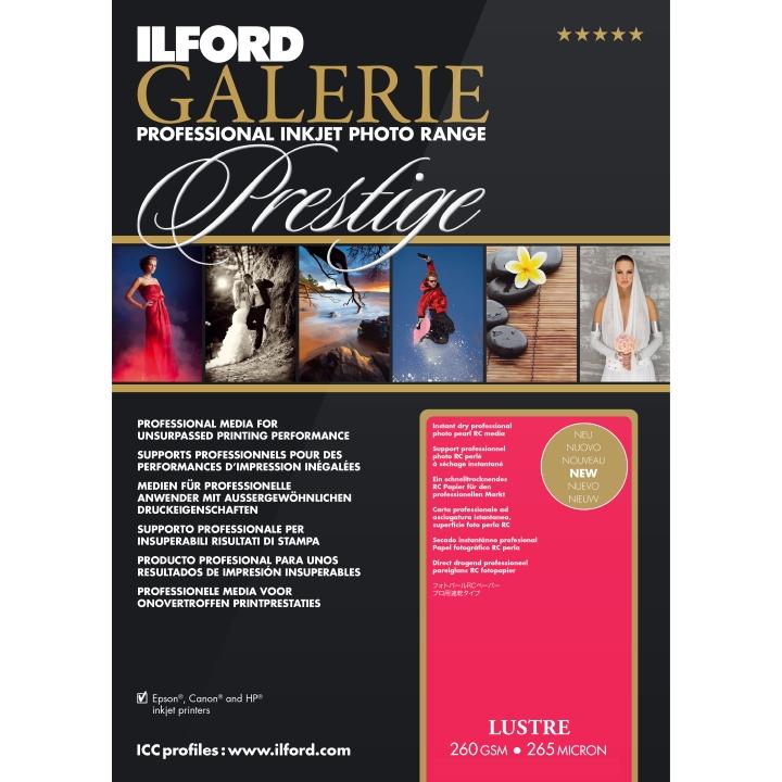 Ilford Galerie Prestige Lustre (260gsm) A3+ 25 Sheets IGPLP11
