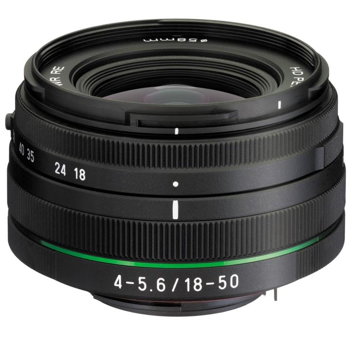 Pentax DA 18-50mm f/4-5.6 DC WR RE Lens