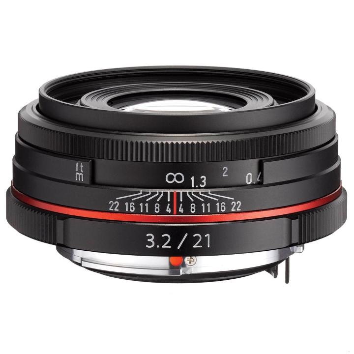 Pentax DA 21mm f/3.2 LTD HD Lens (Black)