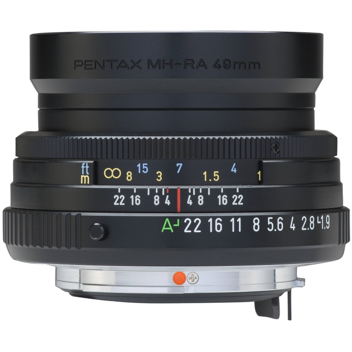 Pentax-FA 43mm f/1.9 Limited Lens (Black)