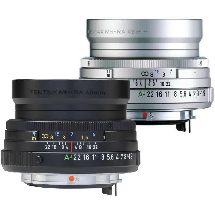 Pentax FA 43mm f/1.9 Limited Lens