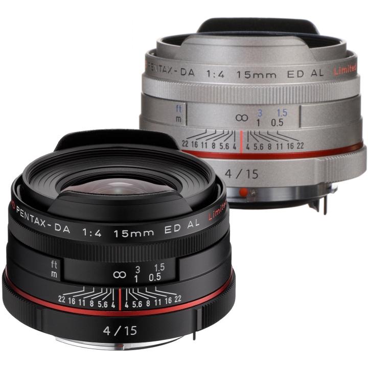 Pentax DA 15mm f/4 Limited ED AL HD Lens