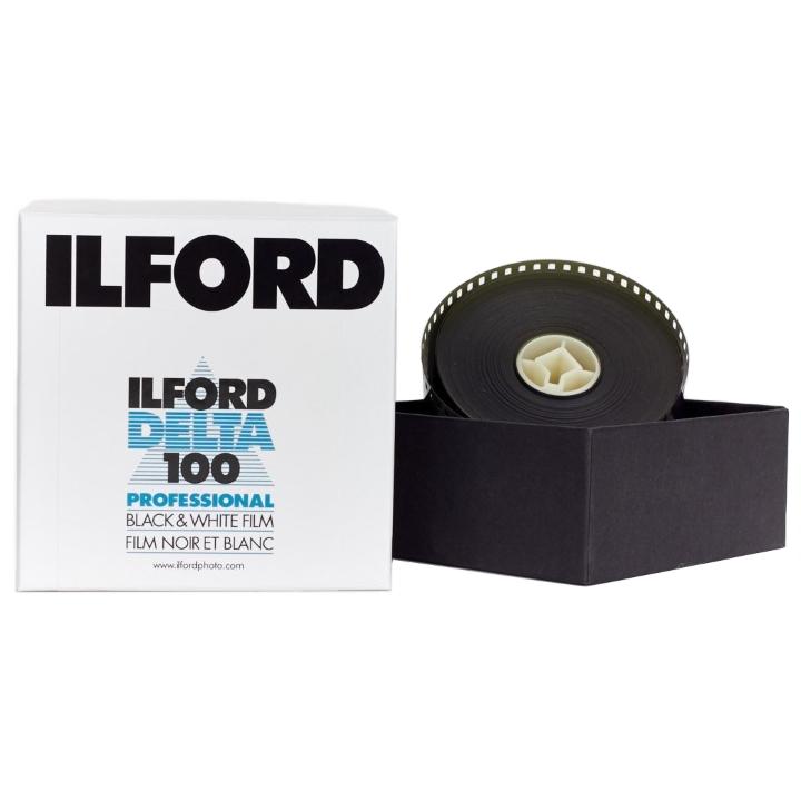 Ilford Delta 100 ISO 100  35mm x 30.5 Black & White Film