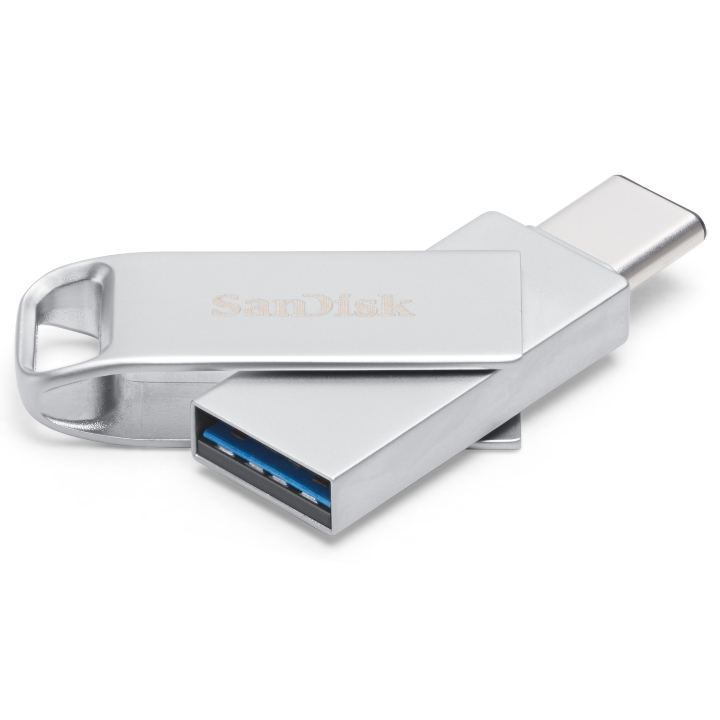 SanDisk Dual  Type-C SDDDMC2 128GB Silver USB 3.0 Type C connectors  Apple