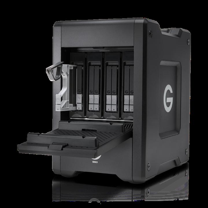 G-Technology G-SPEED Shuttle Thunderbolt 3 SSD 16TB - Black