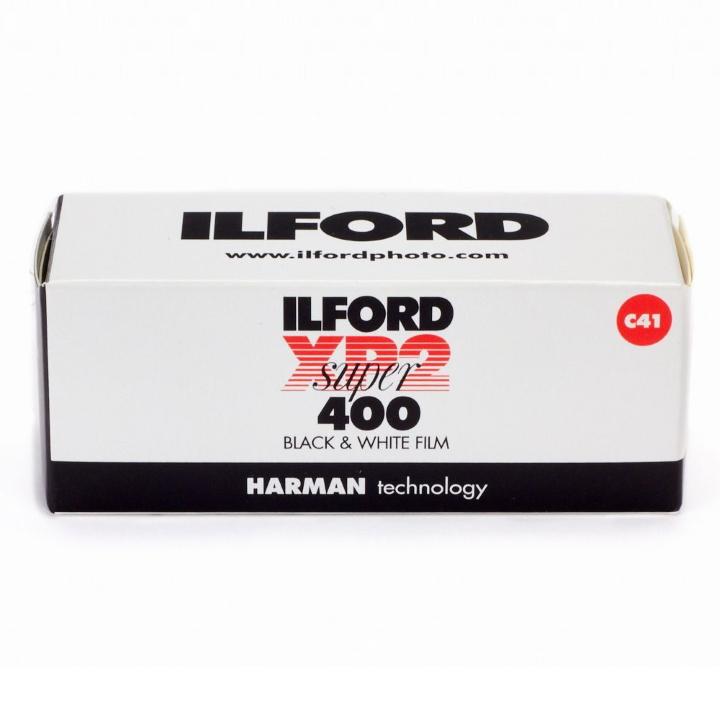Ilford XP2 Super ISO 400 120 Roll Black & White Film