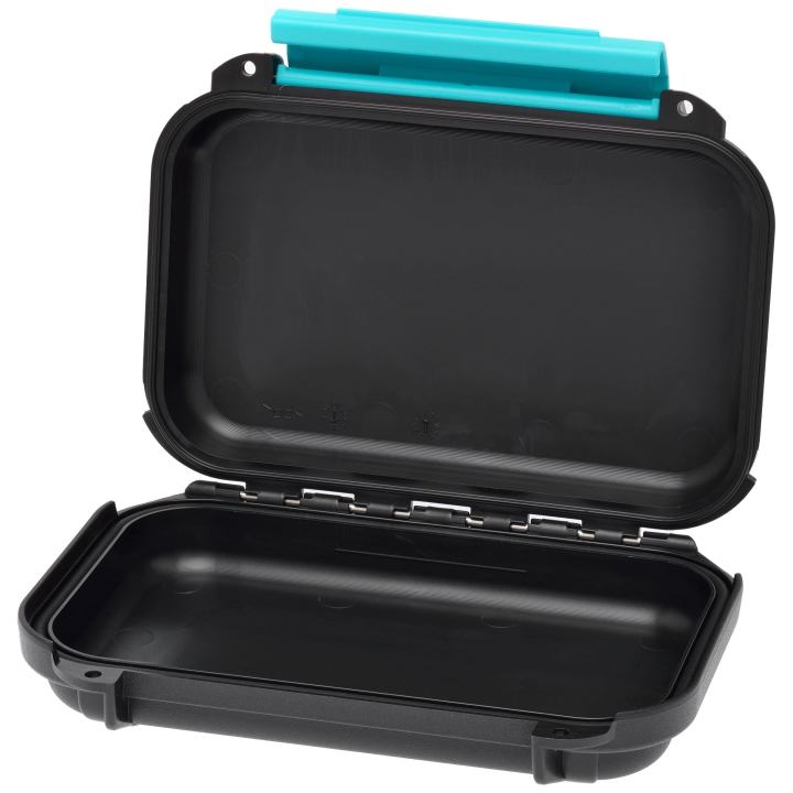 Resin Case HPRC 1400 with Empty Interior - Black/Blue