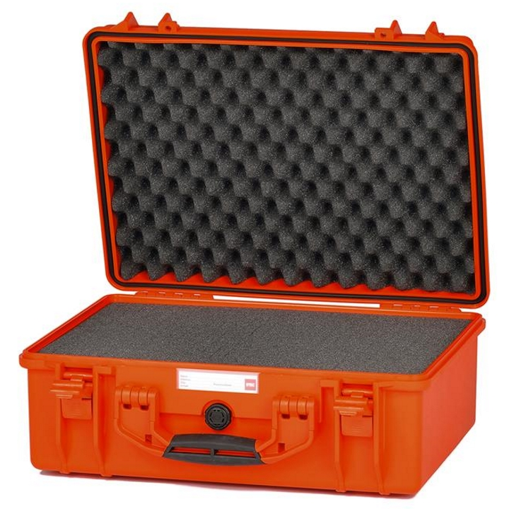 HPRC 2500 - Hard Case with Cubed Foam (Orange)