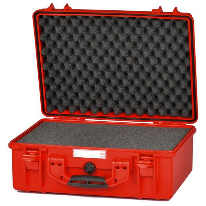 HPRC 2500 - Hard Case with Cubed Foam (Red)