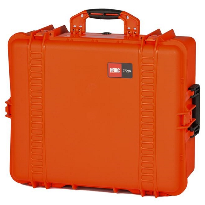 HPRC 2700W - Wheeled Hard Case for DJI Phantom 4 / Pro / Pro+ (Orange)