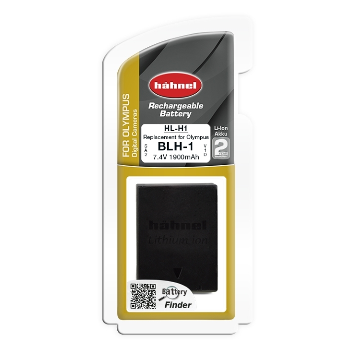 Hahnel Digital Still battery Olympus  Hl-H1  1900 mAh 7.4 V