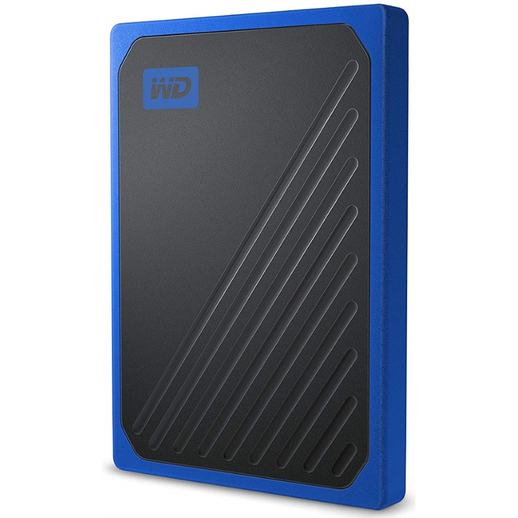 WD My Passport Go Portable SSD 500GB USB 3.0 up to 400 MB/s Cobalt Colored