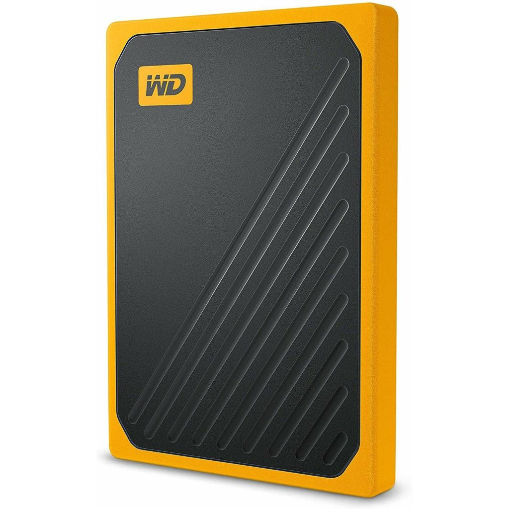 WD My Passport Go Portable SSD 500GB USB 3.0 up to 400 MB/s Amber Colored
