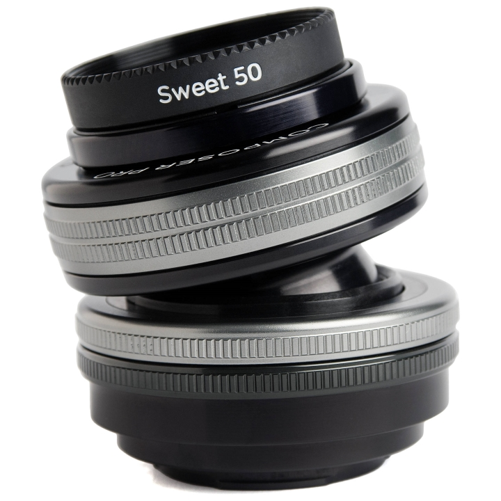 LensbabyComposer Pro II with Sweet 50 Optic Lens for Micro Four Thirds