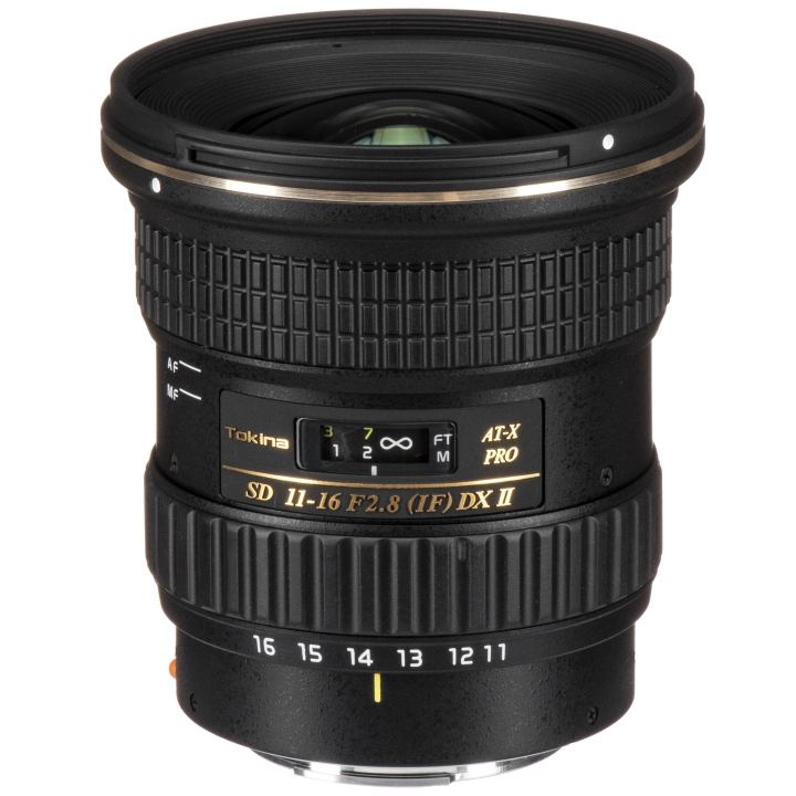 Tokina 11-16mm f/2.8 PRO DX II Lens for Canon