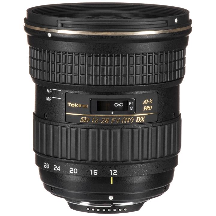Tokina 12-28mm f/4 PRO DX Lens for Nikon