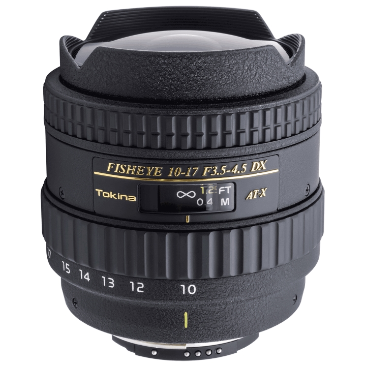 Tokina 10-17mm f/3.5-4.5 DX with Built-In Lens Hood for Nikon